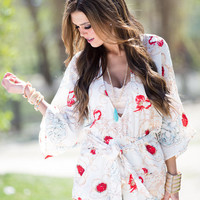 Something For the Weekend Floral Romper