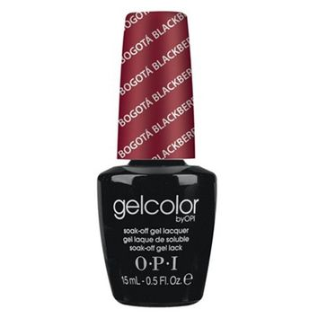 "OPI Gel Color ""Bogota Blackberry"" F52 0.5 oz"