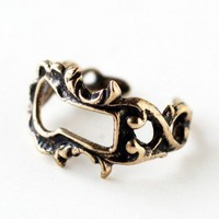 Handmade Gifts | Independent Design | Vintage Goods Victorian Keyhole Ring - New Arrivals