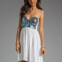One Teaspoon Bubble Pop Electric Dress in White from REVOLVEclothing.com
