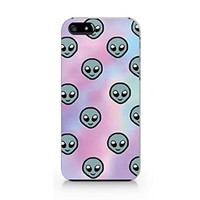 Funny Alien Iphone 4 Case, Funny Alien Iphone 4S Case Slim Protective Phone Case Hard Cover Iphone 4/4S- Emerishop (AH582.ip4)