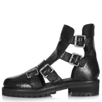 ASHLEIGH Multi Buckle Boots - New In This Week - New In - Topshop USA