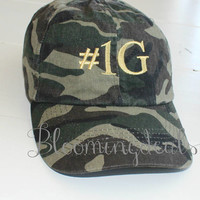 Camouflage Hat Classic Dad Cap Custom Embroidery Baseball Cap Low Profile Unstructured bio washed