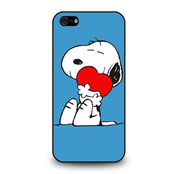 SNOOPY LOVE HEART iPhone 5 / 5S / SE Case