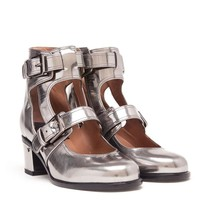 LAURENCE DACADE | Erwin Metallic Leather Buckle Boot | Browns fashion & designer clothes & clothing