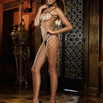 Geneva Fence Net Bodystocking