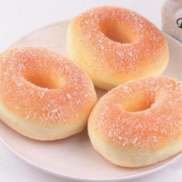 Fake Doughnut Simulation Donuts Decor Charms Baby Kids Children Food Pretend Play Kitchen Toys Squishy Bagels Bread