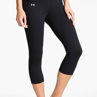 Under Armour 'StudioLux' Colorblock Capris | Nordstrom
