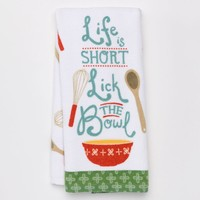 SONOMA life + style ''Lick the Bowl'' Kitchen Towel