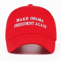 """Make Obama President Again"" Cap"