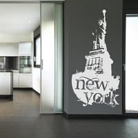 The New York Statue of Liberty Wall Stickers – WallStickerDeal.com