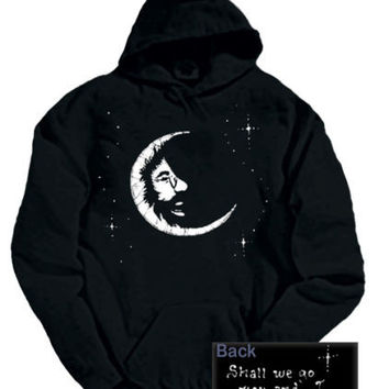 Jerry Garcia Moon Adult Pullover Hoodie