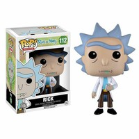 """!Funko-POP-TV-Rick-And-Morty-Rick-Vinyl-Action-Figure-112-Collectible-in-B"""""""
