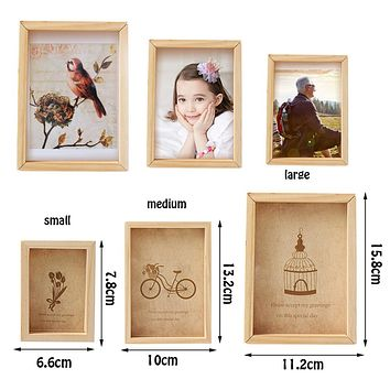Family Vintage Multi Photo Frame