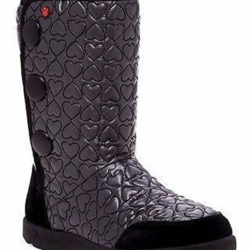 Brand New UGG Australia Girl's I Heart Puffy Quilted Wool Lining Tall Boot US 5