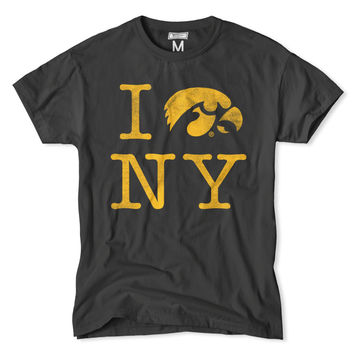 "Iowa ""I Tigerhawk NY"" Hawkeye T-Shirt"