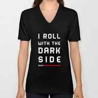 Rolling with the bad guys Unisex V-Neck by A_CreativeHaven