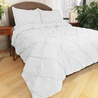 Park B. Smith® Ltd Pouf Down Alternative Comforter Set in White