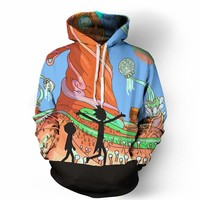 Trendy Rick and Morty Hoodie