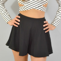 Fifth Label Black Wildfire Shorts