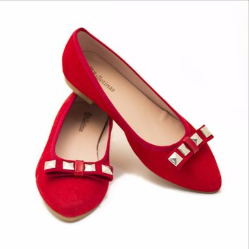 Ares Red Ballet Shoe