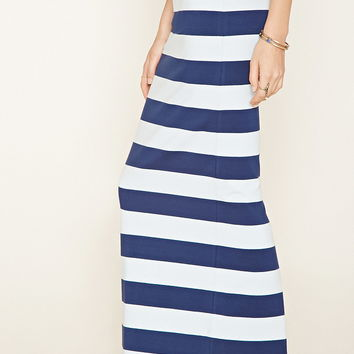 Stripe Maxi Skirt | Forever 21 - 2000186961