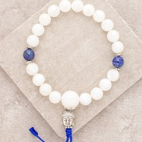 Mother of Pearl Wrist Mala