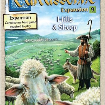 Carcassonne: Expansion 9 - Hills and Sheep