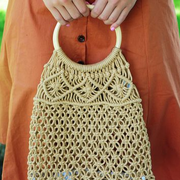 Walk In The Park Purse: Natural