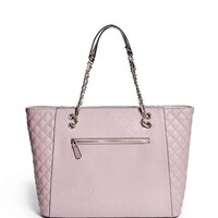 Marian Logo-Embossed Tote at Guess
