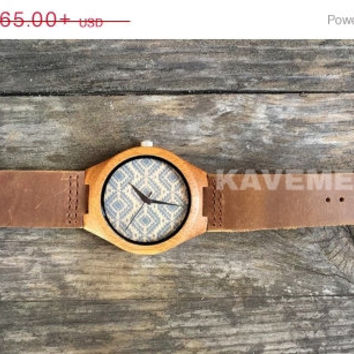 SALE Wood Watch. Mens Watch. Engrve Watch. Personalized Watch. Miami Watch. Kavemen