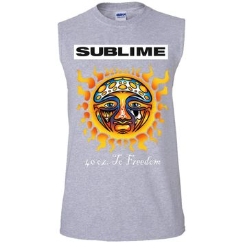 Sublime T-shirt G270 Gildan Men's Ultra Cotton Sleeveless T-Shirt