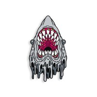 Hang In There (Great White Edition) pin by Alex Pardee