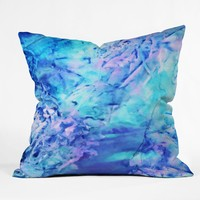 Rosie Brown Ocean Bottom Throw Pillow