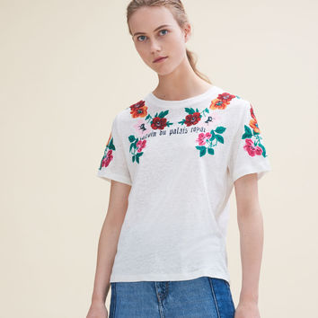 TANISHA Embroidered T-shirt