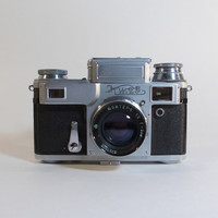 Rare Kiev 4  35mm Camera with Jupiter8m by RussianSoulVintage