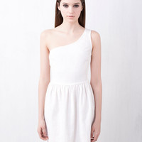 ASYMMETRICAL DRESS - DRESSES - WOMAN -  United Kingdom