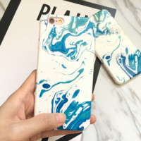 Creative paint phone case for iphone 7 7 plus 5 5s SE 6 6s 6plus 6s plus + Nice gift box!-LJ001
