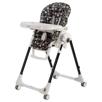 Peg Perego Prima Pappa Zero 3 High Chair in Pavillon Black