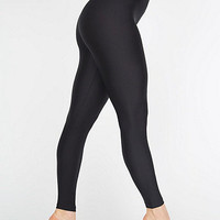 Shiny Nylon Tricot Leggings | American Apparel