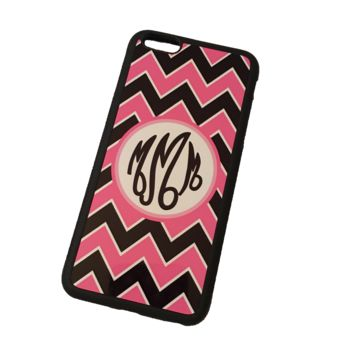 Chevron Monogram Phone Case