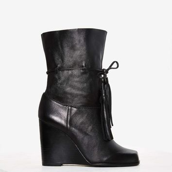 Jeffrey CampbellLarusso Leather Wedge Boot