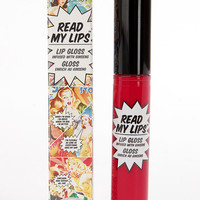 The Balm Read My Lips Hubba Hubba! Berry Red Lip Gloss