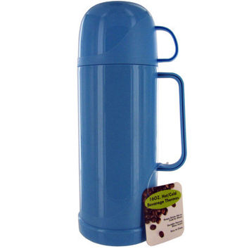 16 Ounce Hot/Cold Beverage Thermos Bottle ( Case of 3 )