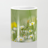 Daisy meadow Coffee Mug by tanjariedel