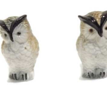 Best glass salt and pepper shakers products on wanelo - Owl salt and pepper grinders ...