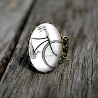Vintage bicycle ring