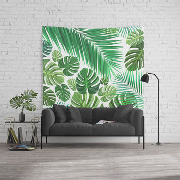 Jungle Fever Wall Tapestry by exobiology