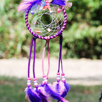 Dreamcatcher Girls Purple Pink Dream Catcher