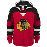 CCM Chicago Blackhawks Pullover Hoodie - Boys 8-20
